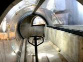 Hybrid tunnel under construction
