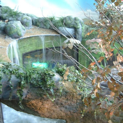 Upland stream display