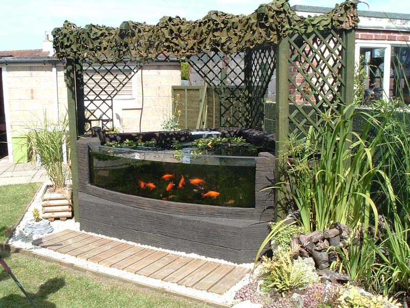 Above Ground Ponds On Pinterest Ponds Fish Ponds And