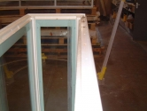 Display case following refurbishment