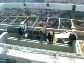 Swimming pool glazing Istanbul roof top