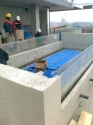 Weir edge pool panels Istanbul penthouse