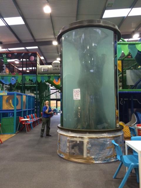 Acrylic Cylinder Aquarium