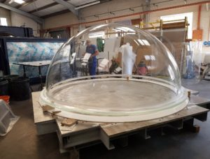 ATL produce even larger acrylic domes