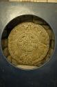 Sculpted aztec calender