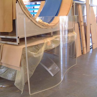 wave form viewing panel in manufacture