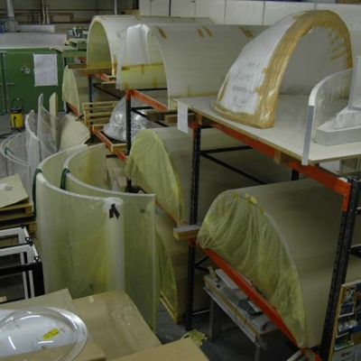 Factory full of forms