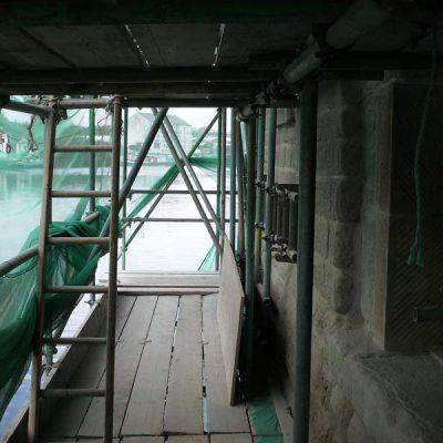 Riverside location for flood defence glazing