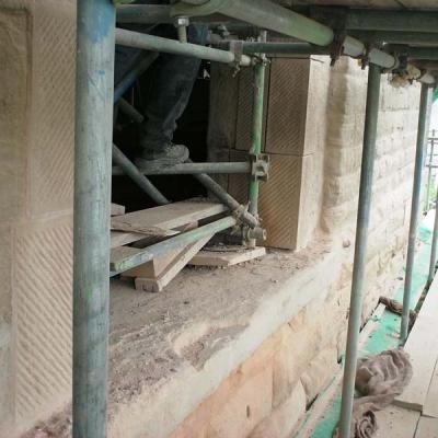 Window reveal ready for flood defence glazing
