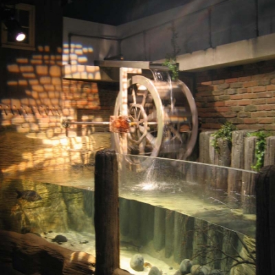 River mill display