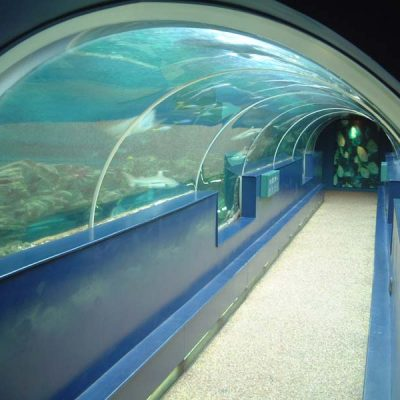 Stepped ocean tunnel