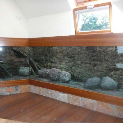 Domestic display following refurbishment