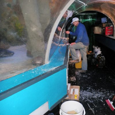Ocean tunnel refurbishment
