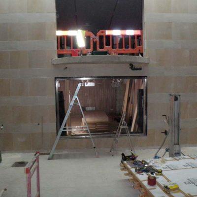 Preparation for pool glazing