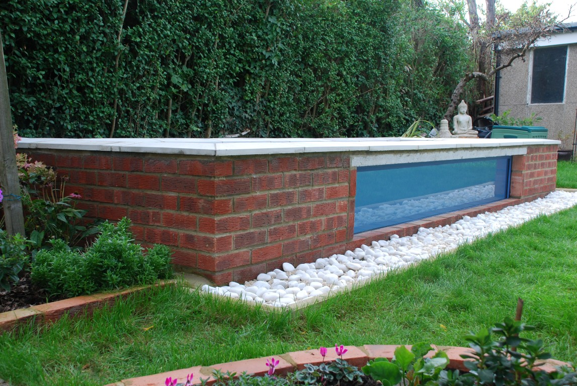 Garden Pond Grp Waterproofing And Underwater Windows