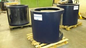 ATL Aquarium half cylinders