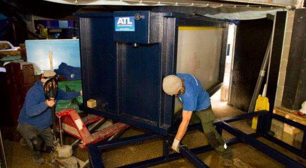 ATL tank install
